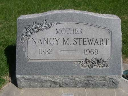 STEWART, NANCY M. - Dawes County, Nebraska | NANCY M. STEWART - Nebraska Gravestone Photos