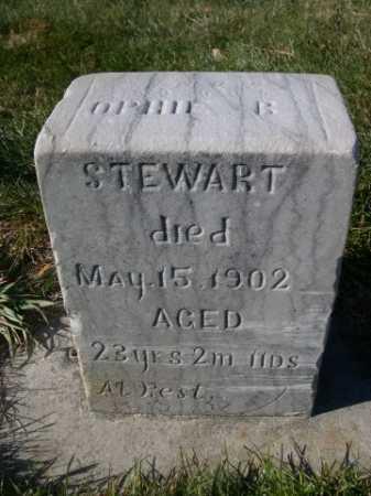 STEWART, OPHIE B. - Dawes County, Nebraska | OPHIE B. STEWART - Nebraska Gravestone Photos