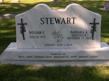 MONTAGUE STEWART, BARBARA A. - Dawes County, Nebraska | BARBARA A. MONTAGUE STEWART - Nebraska Gravestone Photos
