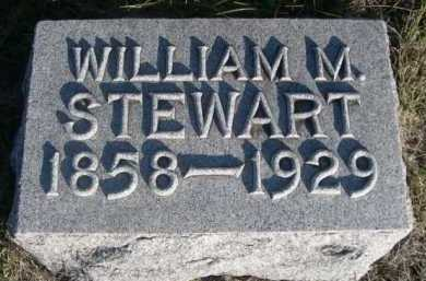 STEWART, WILLIAM M. - Dawes County, Nebraska | WILLIAM M. STEWART - Nebraska Gravestone Photos