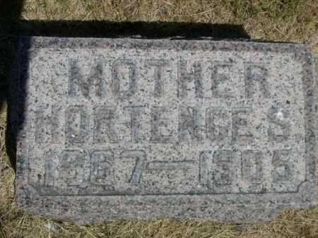 STICKLAND, HORTENCE S. - Dawes County, Nebraska   HORTENCE S. STICKLAND - Nebraska Gravestone Photos