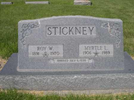 STICKNEY, MYRTLE L. - Dawes County, Nebraska | MYRTLE L. STICKNEY - Nebraska Gravestone Photos