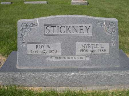 STICKNEY, MYRTLE L. - Dawes County, Nebraska | MYRTLE L. STICKNEY - Nebraska Gravestone Photos