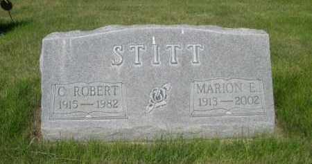 STITT, MARION E. - Dawes County, Nebraska | MARION E. STITT - Nebraska Gravestone Photos