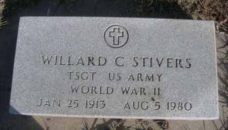 STIVERS, WILLARD C. - Dawes County, Nebraska   WILLARD C. STIVERS - Nebraska Gravestone Photos