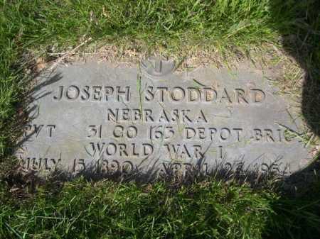 STODDARD, JOSEPH - Dawes County, Nebraska | JOSEPH STODDARD - Nebraska Gravestone Photos