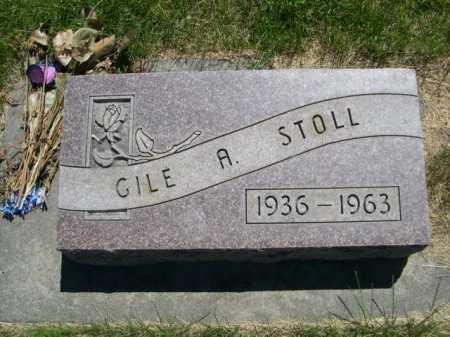 STOLL, GILE A. - Dawes County, Nebraska | GILE A. STOLL - Nebraska Gravestone Photos