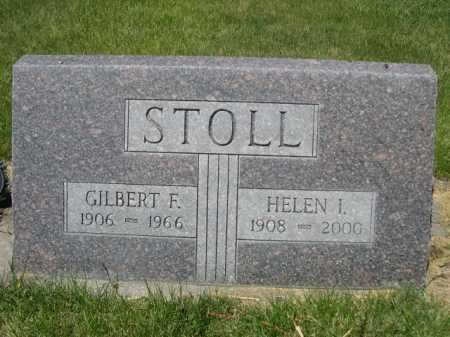 STOLL, GILBERT F. - Dawes County, Nebraska | GILBERT F. STOLL - Nebraska Gravestone Photos