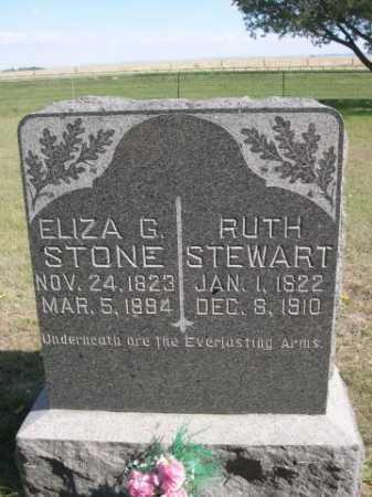 STONE, ELIZA G. - Dawes County, Nebraska | ELIZA G. STONE - Nebraska Gravestone Photos