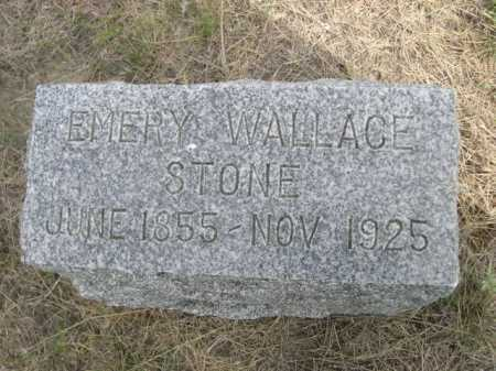 STONE, EMERY WALLACE - Dawes County, Nebraska | EMERY WALLACE STONE - Nebraska Gravestone Photos