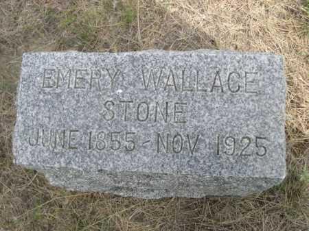 STONE, EMERY WALLACE - Dawes County, Nebraska | EMERY WALLACE STONE - Nebraska Gravestone Photos
