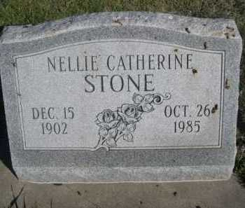 STONE, NELLIE CATHERINE - Dawes County, Nebraska | NELLIE CATHERINE STONE - Nebraska Gravestone Photos