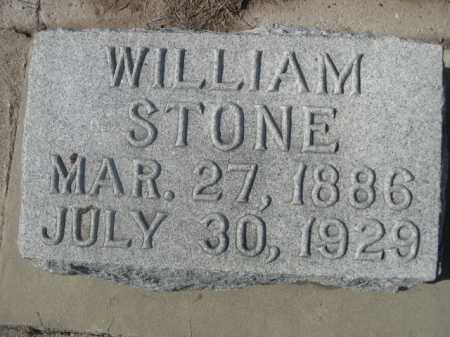 STONE, WILLIAM - Dawes County, Nebraska | WILLIAM STONE - Nebraska Gravestone Photos