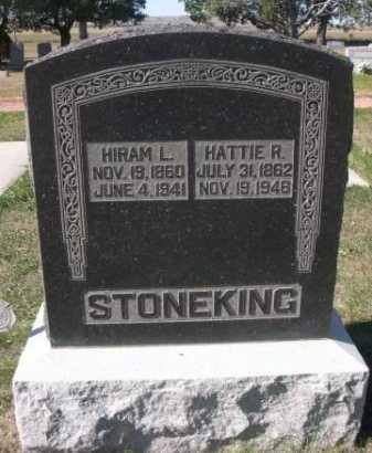 STONEKING, HIRAM L. - Dawes County, Nebraska   HIRAM L. STONEKING - Nebraska Gravestone Photos