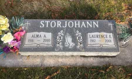 STORJOHANN, LAURENCE E. - Dawes County, Nebraska | LAURENCE E. STORJOHANN - Nebraska Gravestone Photos