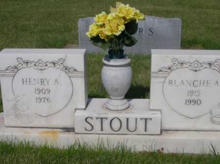 STOUT, BLANCHE A. - Dawes County, Nebraska | BLANCHE A. STOUT - Nebraska Gravestone Photos