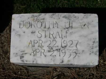 STRAIT, DOROTHY JEAN - Dawes County, Nebraska | DOROTHY JEAN STRAIT - Nebraska Gravestone Photos