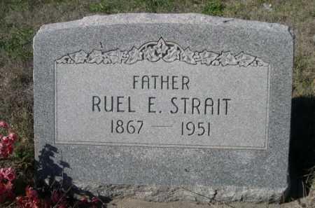 STRAIT, RUEL E. - Dawes County, Nebraska | RUEL E. STRAIT - Nebraska Gravestone Photos