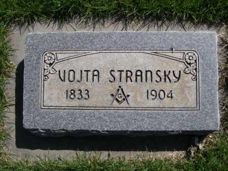 STRANSKY, VOJTA - Dawes County, Nebraska | VOJTA STRANSKY - Nebraska Gravestone Photos