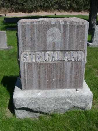 STRICKLAND, FAMILY - Dawes County, Nebraska | FAMILY STRICKLAND - Nebraska Gravestone Photos