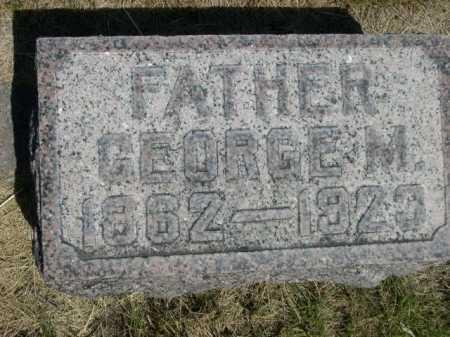 STRICKLAND, GEORGE M. - Dawes County, Nebraska | GEORGE M. STRICKLAND - Nebraska Gravestone Photos