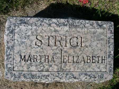 STRIGL, MARTHA - Dawes County, Nebraska | MARTHA STRIGL - Nebraska Gravestone Photos