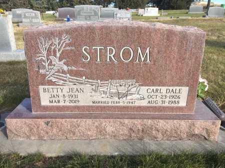 STROM, CARL DALE - Dawes County, Nebraska | CARL DALE STROM - Nebraska Gravestone Photos