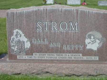 STROM, DALE - Dawes County, Nebraska | DALE STROM - Nebraska Gravestone Photos