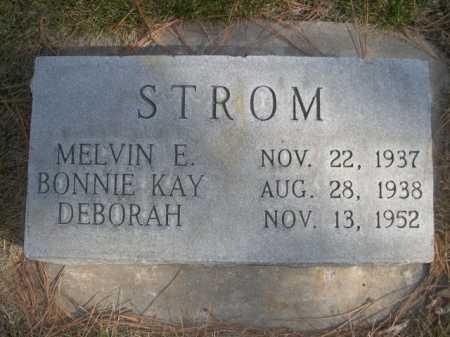 STROM, MELVIN E. - Dawes County, Nebraska | MELVIN E. STROM - Nebraska Gravestone Photos