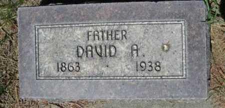 STRONG, DAVID A. - Dawes County, Nebraska | DAVID A. STRONG - Nebraska Gravestone Photos