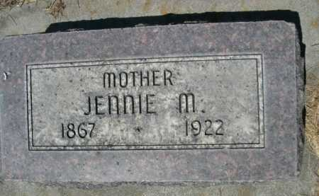 STRONG, JENNIE M. - Dawes County, Nebraska | JENNIE M. STRONG - Nebraska Gravestone Photos