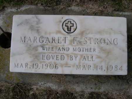 STRONG, MARGARET F. - Dawes County, Nebraska   MARGARET F. STRONG - Nebraska Gravestone Photos