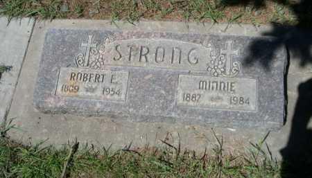 STRONG, MINNIE - Dawes County, Nebraska | MINNIE STRONG - Nebraska Gravestone Photos