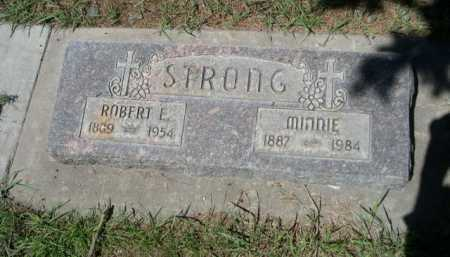 STRONG, ROBERT E. - Dawes County, Nebraska | ROBERT E. STRONG - Nebraska Gravestone Photos