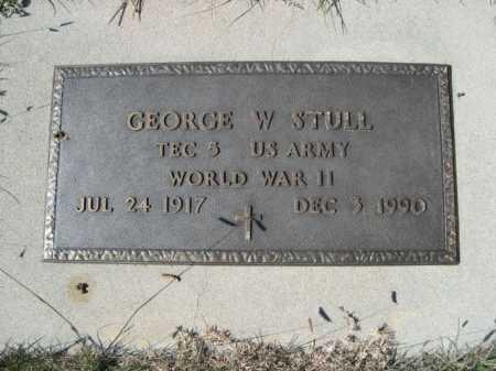 STULL, GEORGE W. - Dawes County, Nebraska | GEORGE W. STULL - Nebraska Gravestone Photos