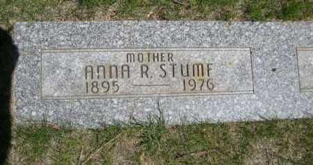 STUMF, ANNA R. - Dawes County, Nebraska | ANNA R. STUMF - Nebraska Gravestone Photos