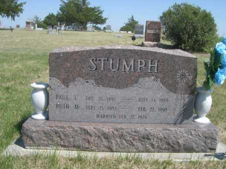 STUMPH, PAUL L. - Dawes County, Nebraska | PAUL L. STUMPH - Nebraska Gravestone Photos