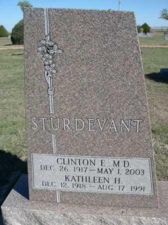 STURDEVANT, KATHLEEN H. - Dawes County, Nebraska | KATHLEEN H. STURDEVANT - Nebraska Gravestone Photos