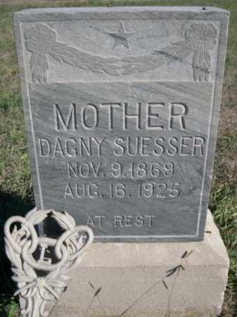 SUESSER, DAGNY - Dawes County, Nebraska | DAGNY SUESSER - Nebraska Gravestone Photos