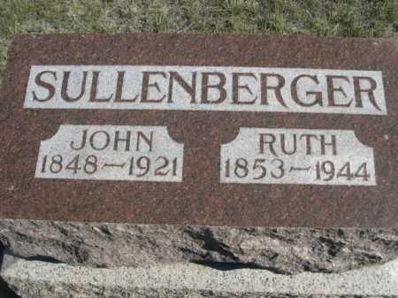 SULLENBERGER, JOHN - Dawes County, Nebraska | JOHN SULLENBERGER - Nebraska Gravestone Photos