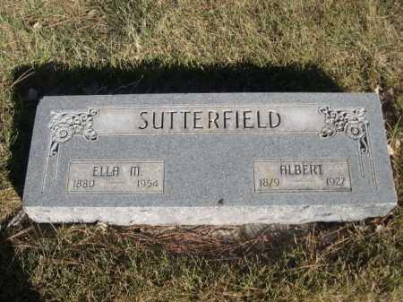 SUTTERFIELD, ELLA M. - Dawes County, Nebraska | ELLA M. SUTTERFIELD - Nebraska Gravestone Photos