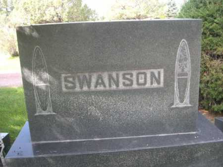 SWANSON, FAMILY - Dawes County, Nebraska | FAMILY SWANSON - Nebraska Gravestone Photos