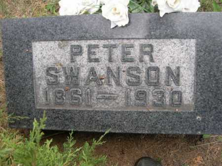 SWANSON, PETER - Dawes County, Nebraska | PETER SWANSON - Nebraska Gravestone Photos