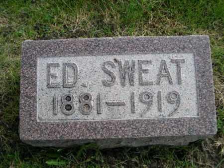 SWEAT, ED - Dawes County, Nebraska | ED SWEAT - Nebraska Gravestone Photos