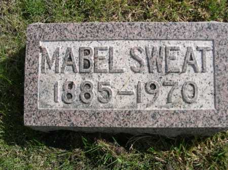SWEAT, MABEL - Dawes County, Nebraska | MABEL SWEAT - Nebraska Gravestone Photos