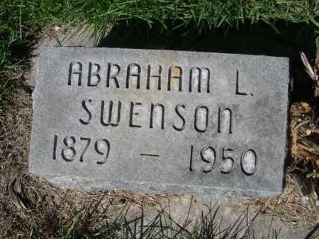 SWENSON, ABRAHAM L. - Dawes County, Nebraska | ABRAHAM L. SWENSON - Nebraska Gravestone Photos