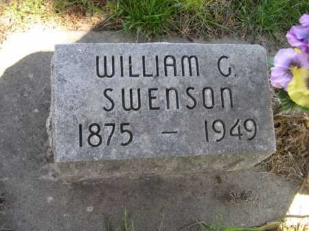 SWENSON, WILLIAM G. - Dawes County, Nebraska | WILLIAM G. SWENSON - Nebraska Gravestone Photos