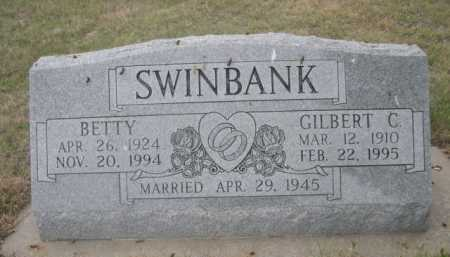 SWINBANK, GILBERT C. - Dawes County, Nebraska | GILBERT C. SWINBANK - Nebraska Gravestone Photos