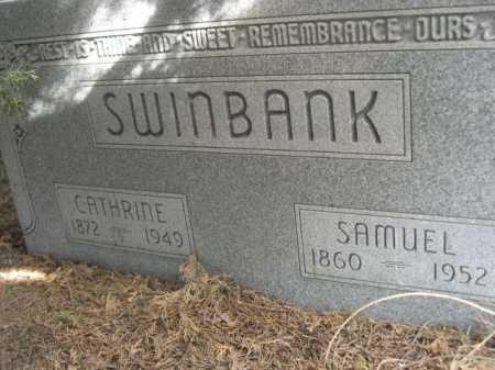 SWINBANK, CATHRINE - Dawes County, Nebraska | CATHRINE SWINBANK - Nebraska Gravestone Photos