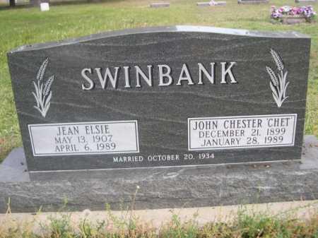 SWINBANK, JEAN ELSIE - Dawes County, Nebraska | JEAN ELSIE SWINBANK - Nebraska Gravestone Photos
